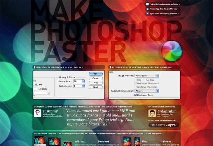makephotoshopfaster