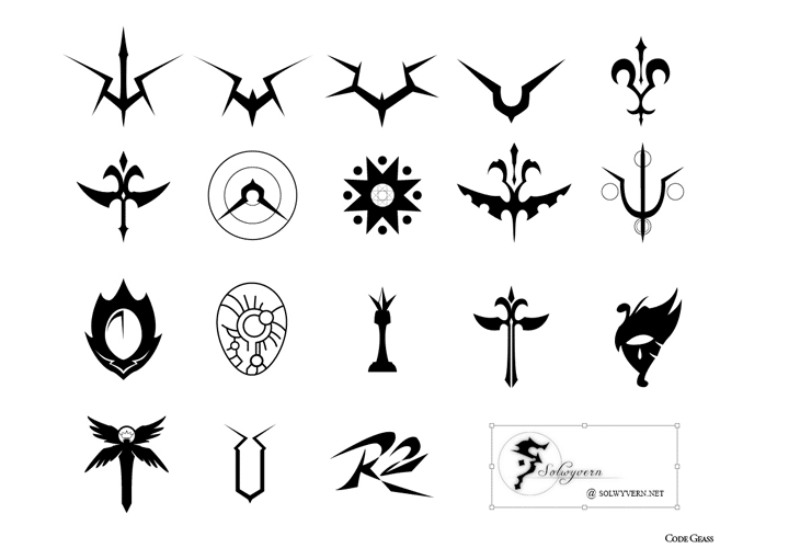Code Geass Symbol Set