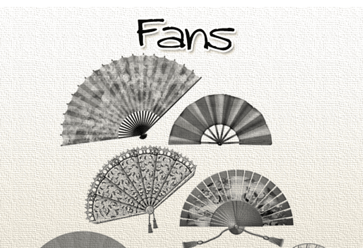 Fans Photoshop Brushes