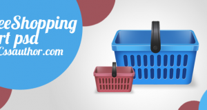 Beautiful Free Shopping Cart Icon PSD – Freebie No:2
