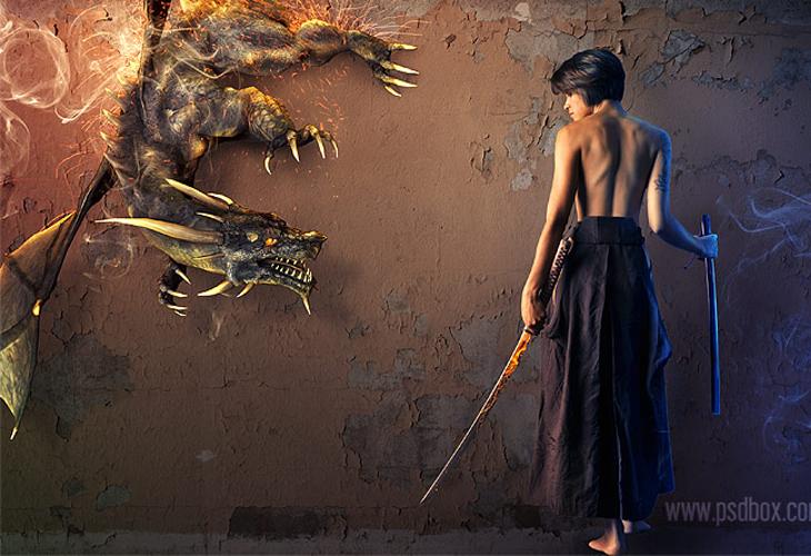 Make a Fantasy Wallpaper in Photoshop