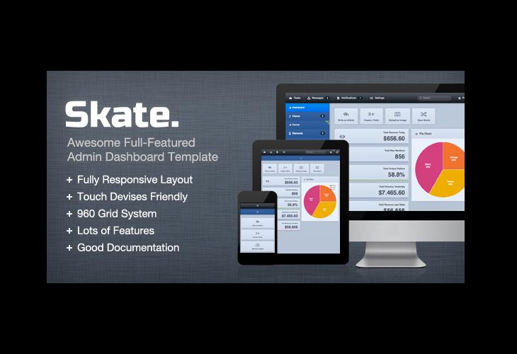 Skate-Dashboard--Admin-Control-Template