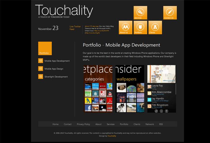 Touchality