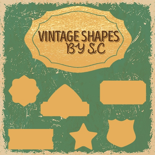 Vintage Shapes by SC