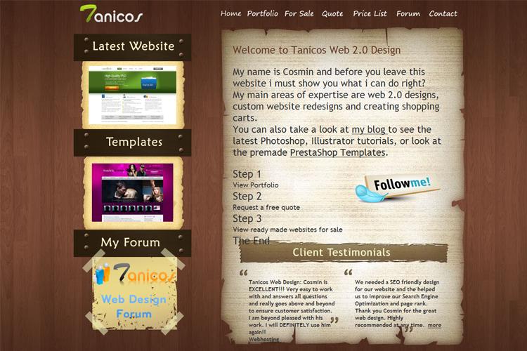 tanicos-webbdesign