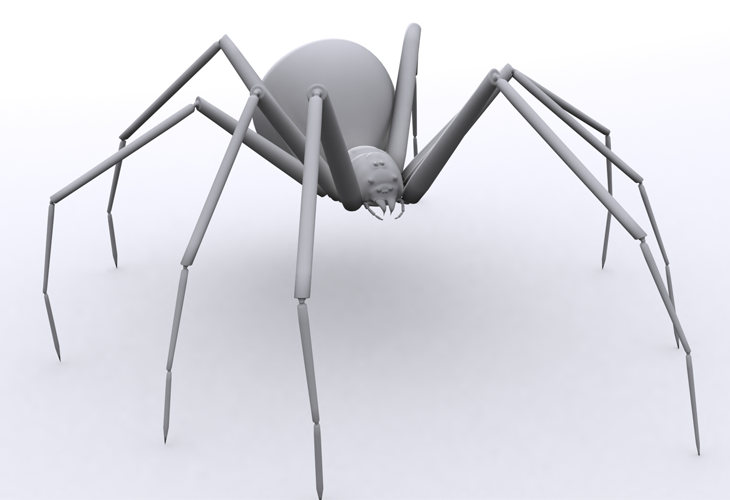 3D Spider - cssauthor.com