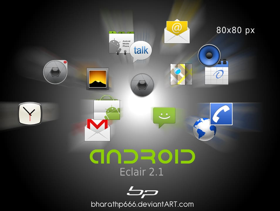 Android Application Mini-Icons