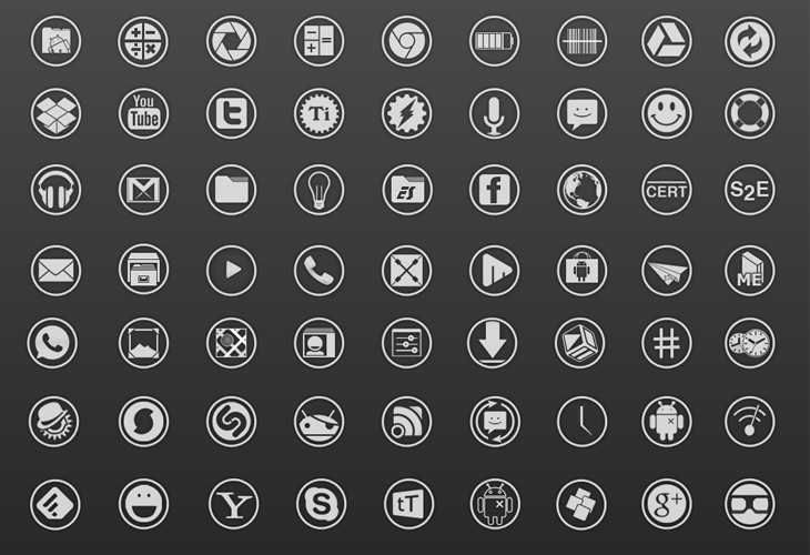 Android Ice Cream Sandwich Icons v3.1