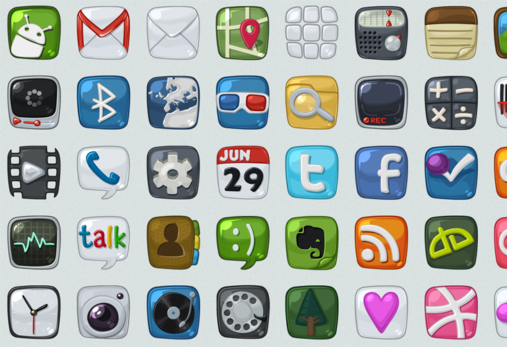 Android icons WIP