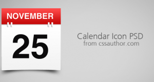 Awesome Free Download Calendar Icon PSD – Freebie No: 5