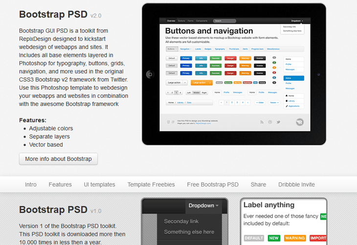 Bootstrap PSD