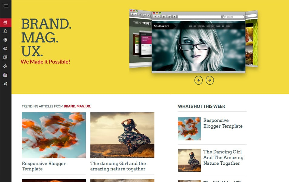 Brand Mag UX Responsive Blogger Template
