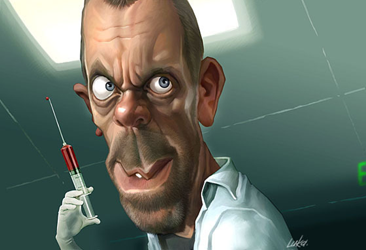 Hugh Laurie as Dr. Gregory House - cssauthor.com