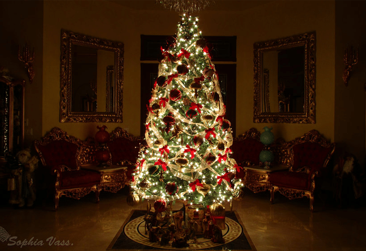 Unique Decorated Christmas Trees