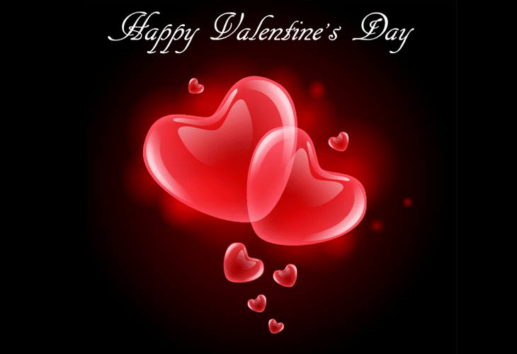 Create a Vector Greeting Card for Valentine's Day