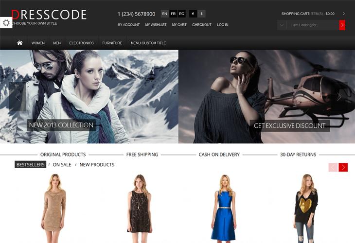 Dresscode - Responsive Magento Theme - cssauthor.com