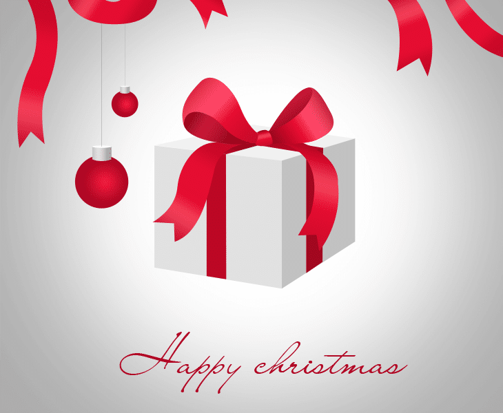 Free Download Christmas Card Elements PSD - cssauthor.com