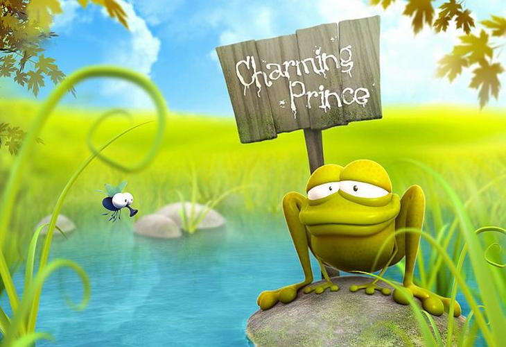 Funny 3D Design Charming Prince - cssauthor.com