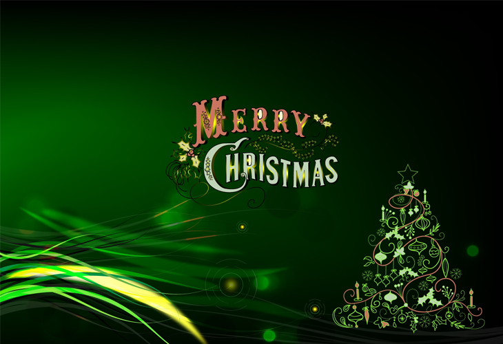 Green-Merry-Christmas