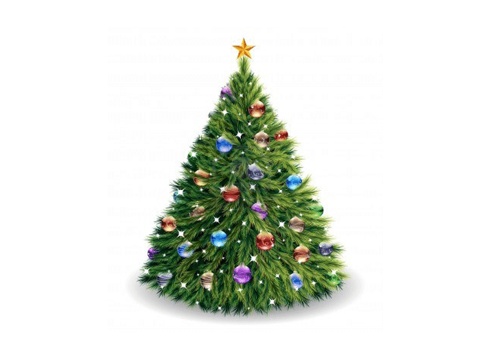 Illustration - Christmas tree