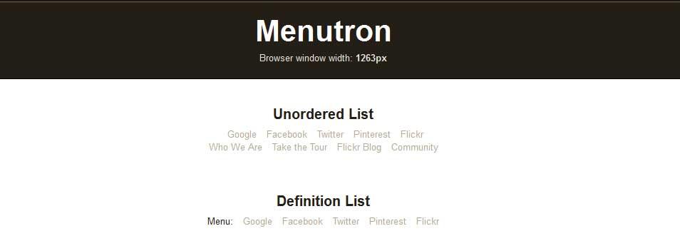 Menutron