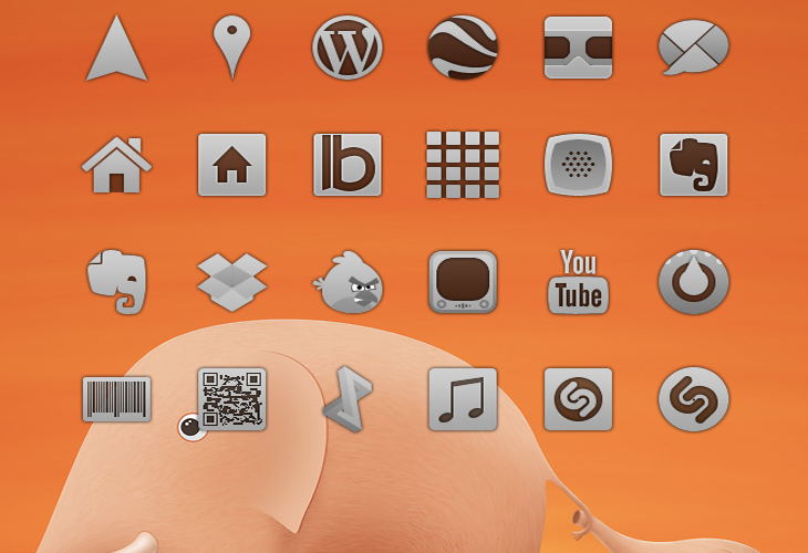 More Codex icons for Android