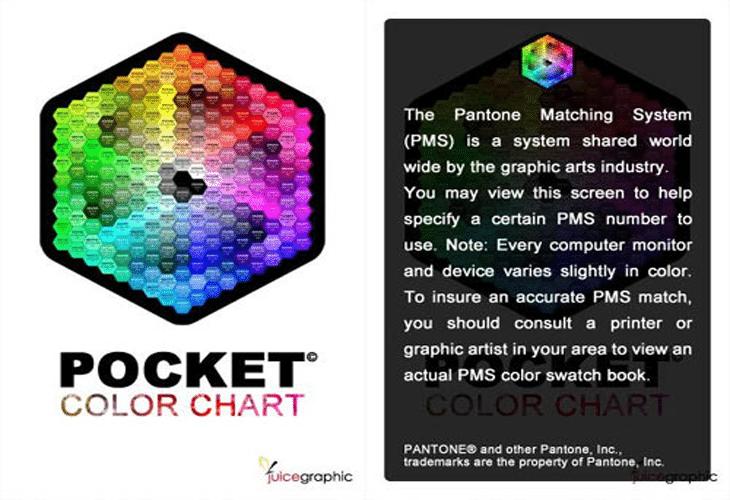 Pocket Color Chart