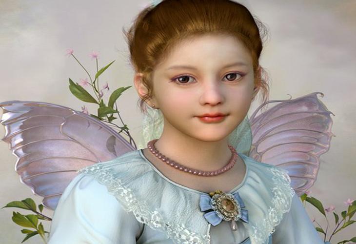 Portrait Girl 3d Character - cssauthor.com