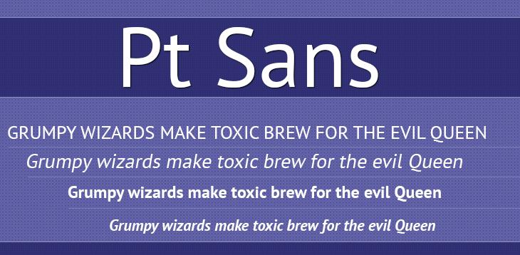 Pt-Sans