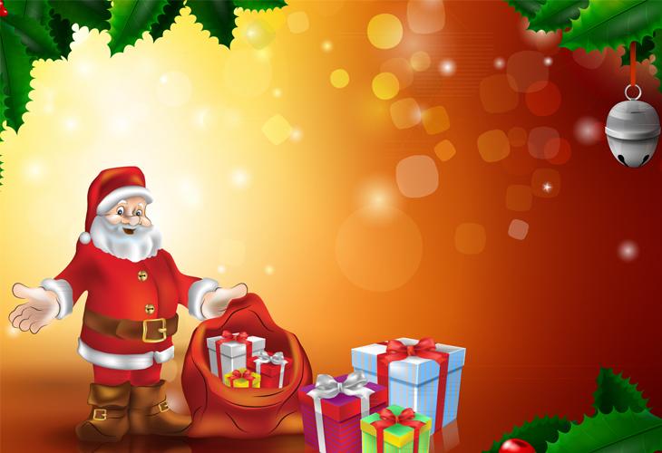 Santa-and-Xmas-Gifts