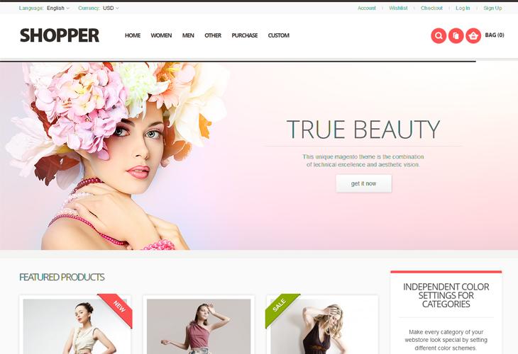 Shopper - Responsive Magento Theme - cssauthor.com