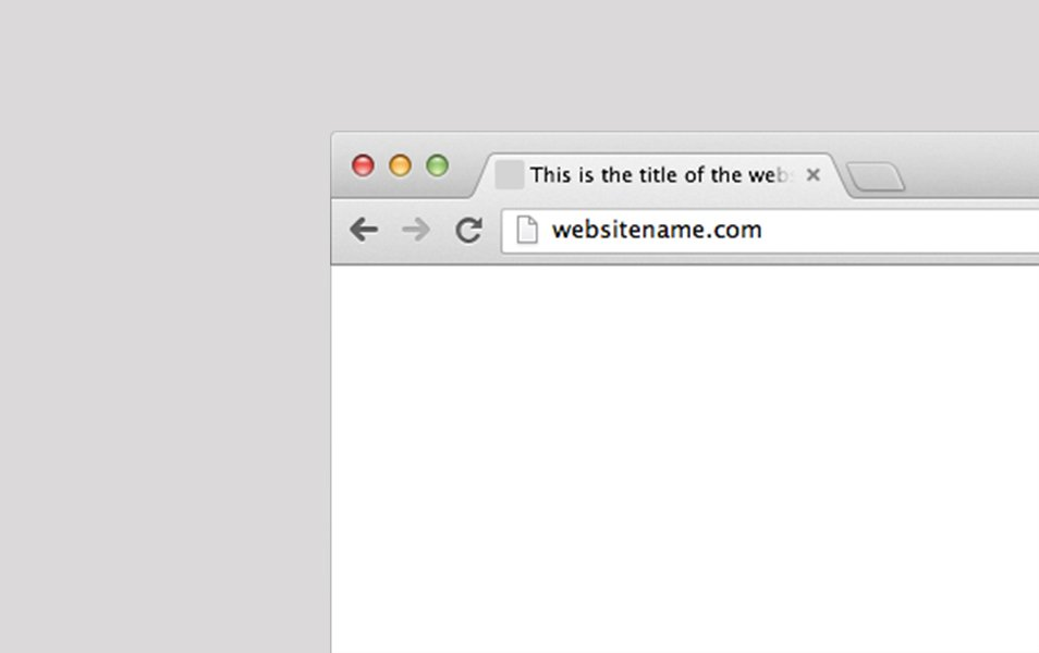 Sketch Chrome Browser Frame