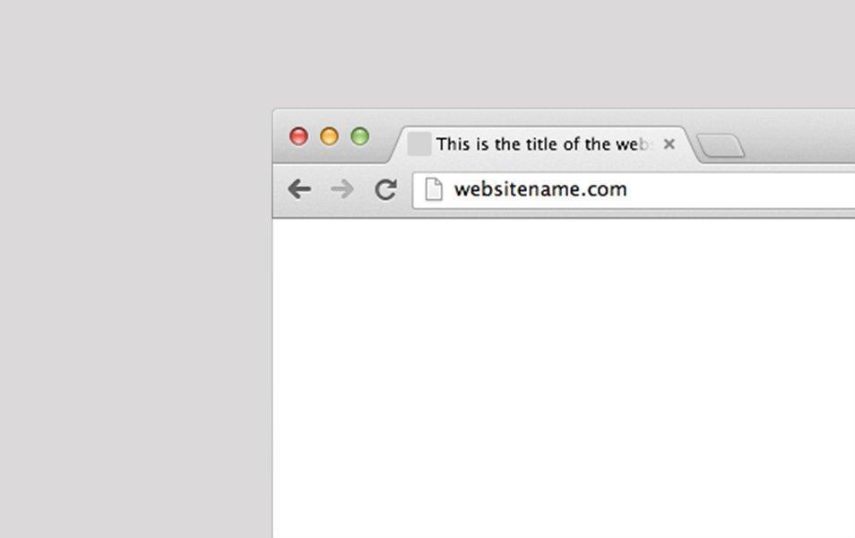 Sketch Chrome Browser Frame