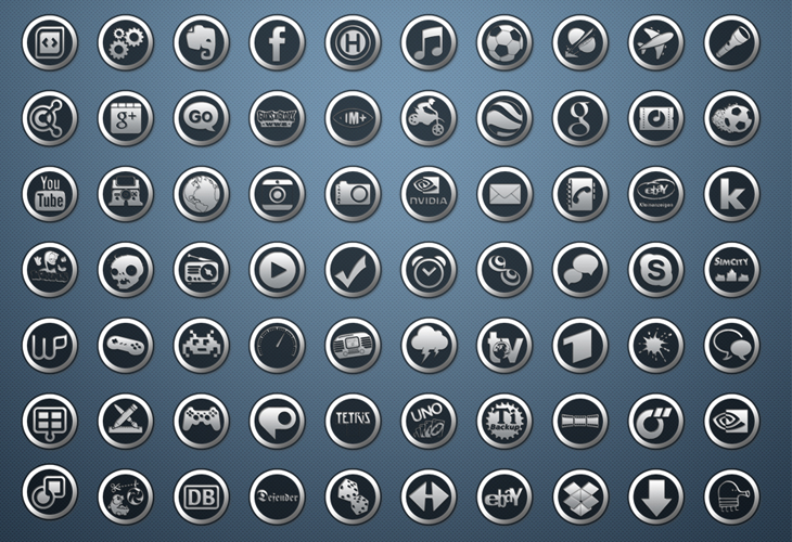 SteelGlass Icons for Android