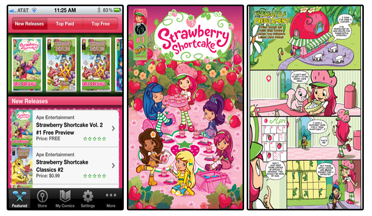 Strawberry Shortcake Comics Reader