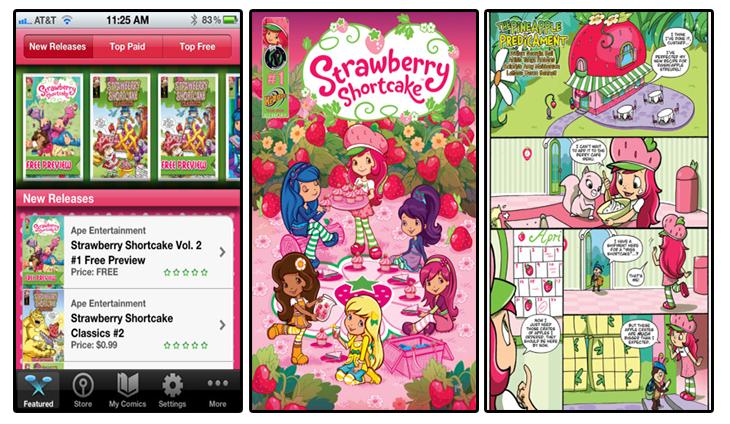 Strawberry Shortcake Comics Reader