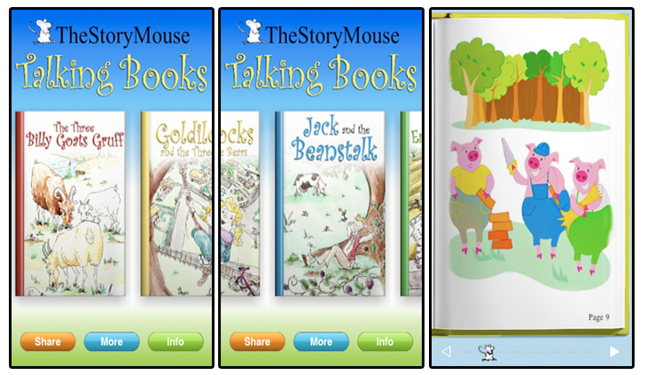 The Story Mouse Talking Books