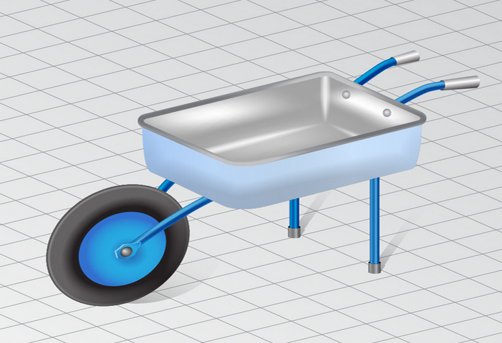 Wheelbarrow in Perspective