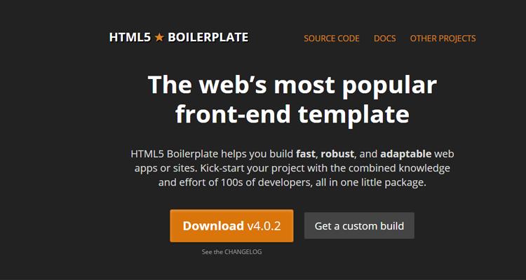 html 5 boilerplate