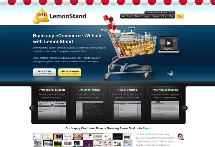 lemon stand