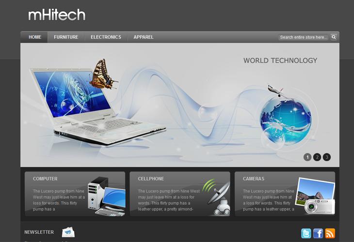 mHitech - cssauthor.com