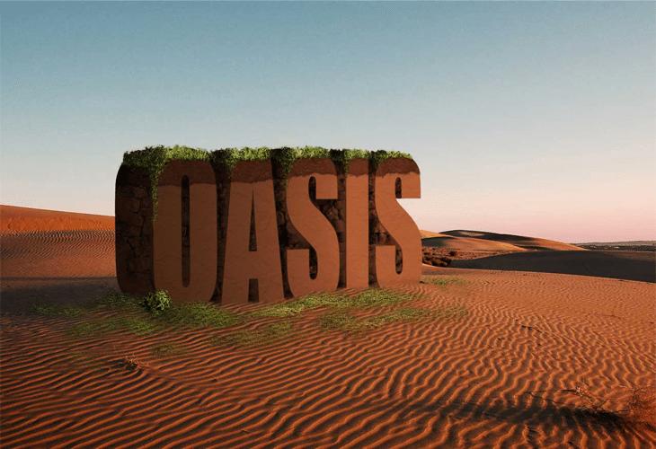 3D Text Scene