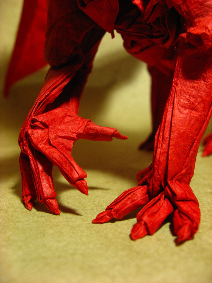 Ancient Dragon (close up claws)