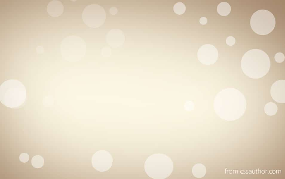 Bubble Background PSD