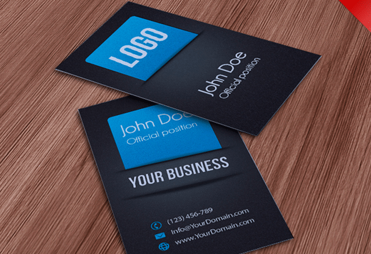 30 beautiful business card design templates for Business cards psd templates