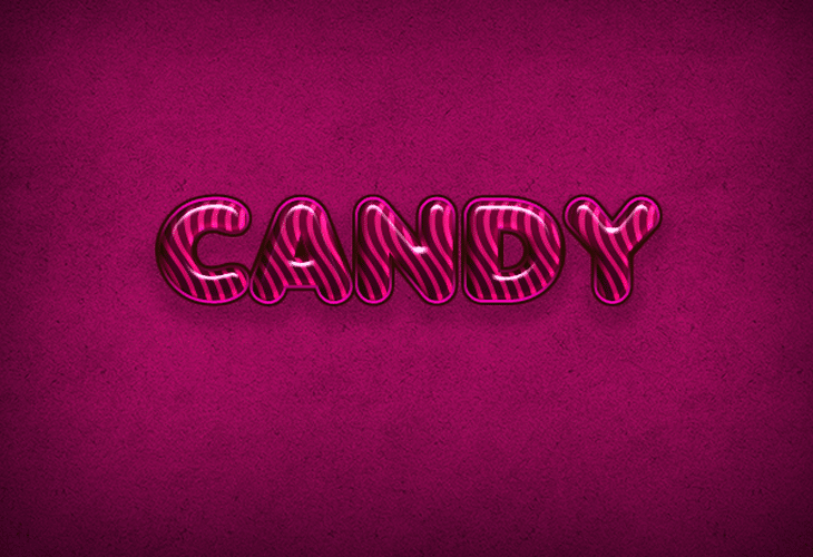 Candy Flavored Text Effect