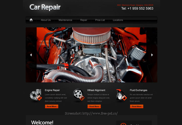 Car-Repair-Free-PSD-Website-Template