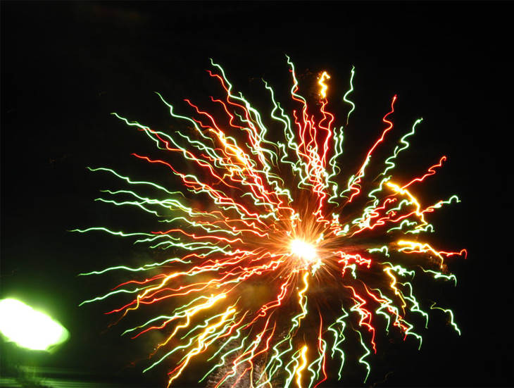 Christmas Flower - Fireworks 9