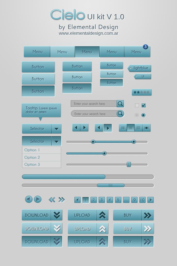 Cielo UI Kit v1.0