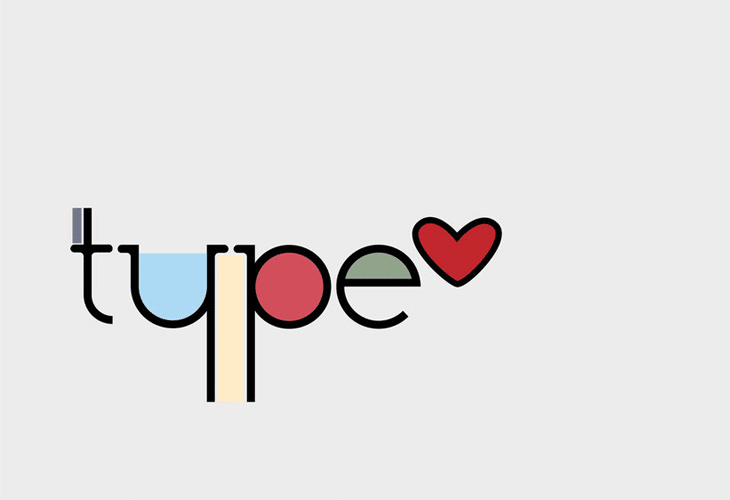 Colors Typography Wallpaper